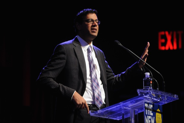 Atul Gawande at The New Yorker Festival 2014 on October 12, 2014.