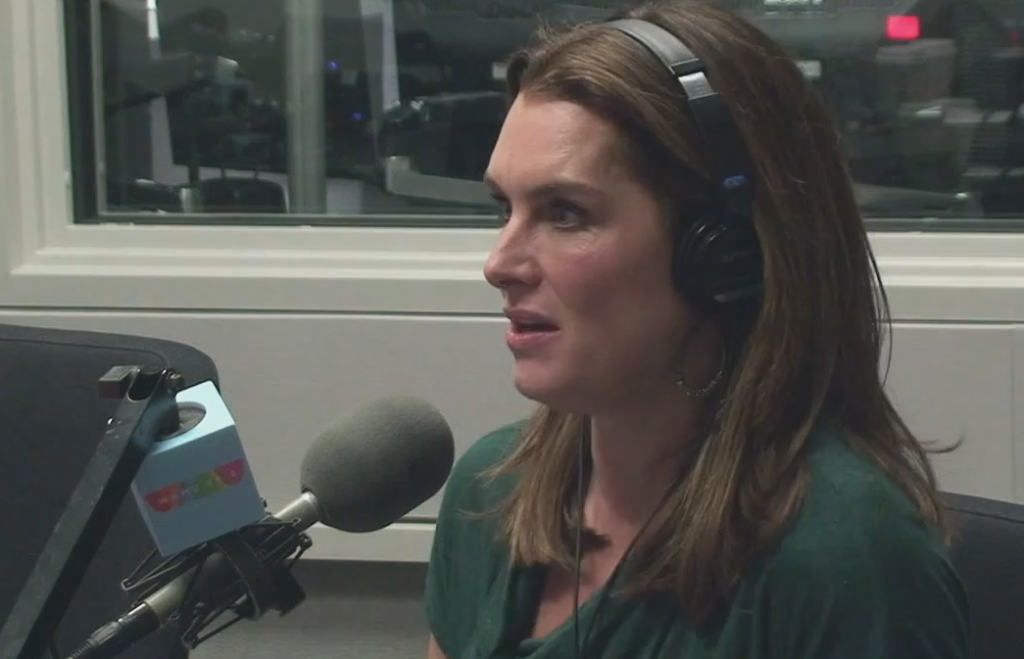 Brooke Shields on The Diane Rehm Show.