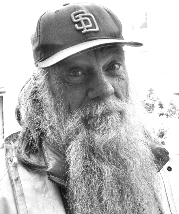 Jonathan is one of the homeless men psychiatrist Robert Okin met on the Streets of San Francisco.  Okin spent two years interviewing people with mental disorders on the street.