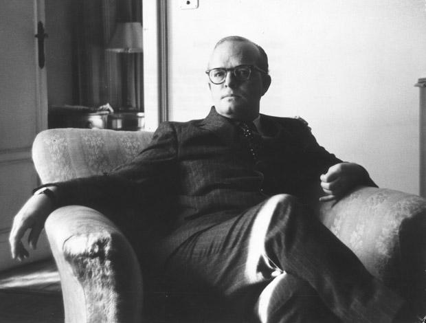 American writer Truman Capote (1924 - 1984).