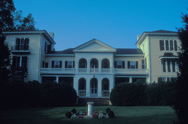 The President's House At Sweet Briar College.