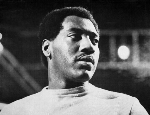"Otis Redding is pictured in a trade ad for the single ""Try a Little Tenderness."""