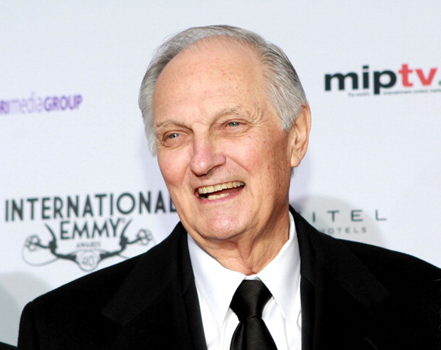 Actor Alan Alda attends the 40th International Emmy Awards in New York City.