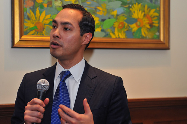 Secretary of Housing and Urban Development Julian Castro speaks at Voto Latino's 10th Anniversary Celebration private reception March 4 in Washington, D.C.