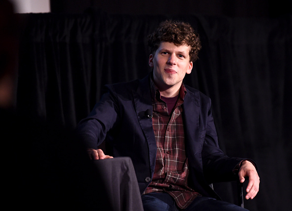 Eisenberg onstage at the The New Yorker Festival 2015, earlier this month in New York.