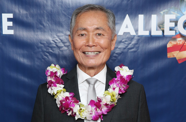 "Takei attends the ""Allegiance"" Broadway opening night afterparty at Bryant Park Grill on Nov. 8 in New York."