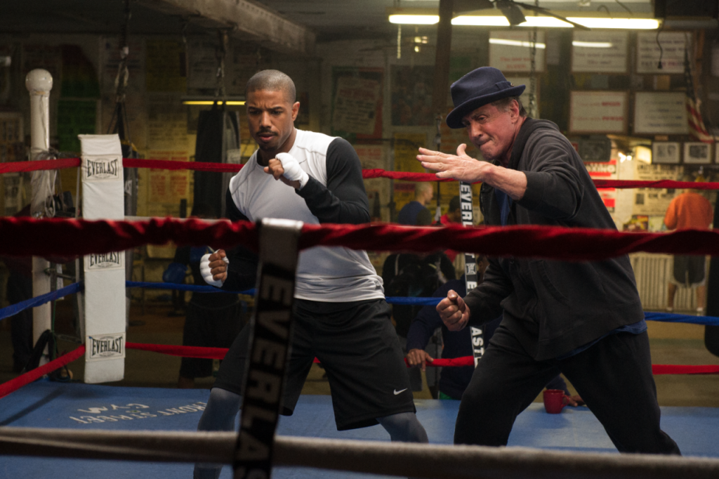 """""""Creed"""" actor Sylvester Stallone (right) said he considered skipping the Academy Awards, even though he's nominated, because the film's lead actor Michael B. Jordan (left) and director Ryan Coogler were snubbed."""