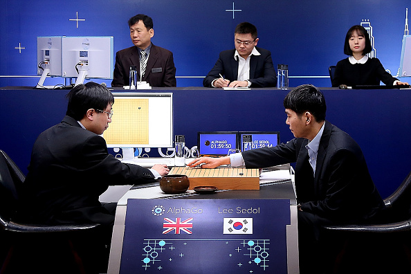 South Korean professional Go player Lee Se-dol competes against Google computer program AlphaGo on March 10 in Seoul, South Korea.