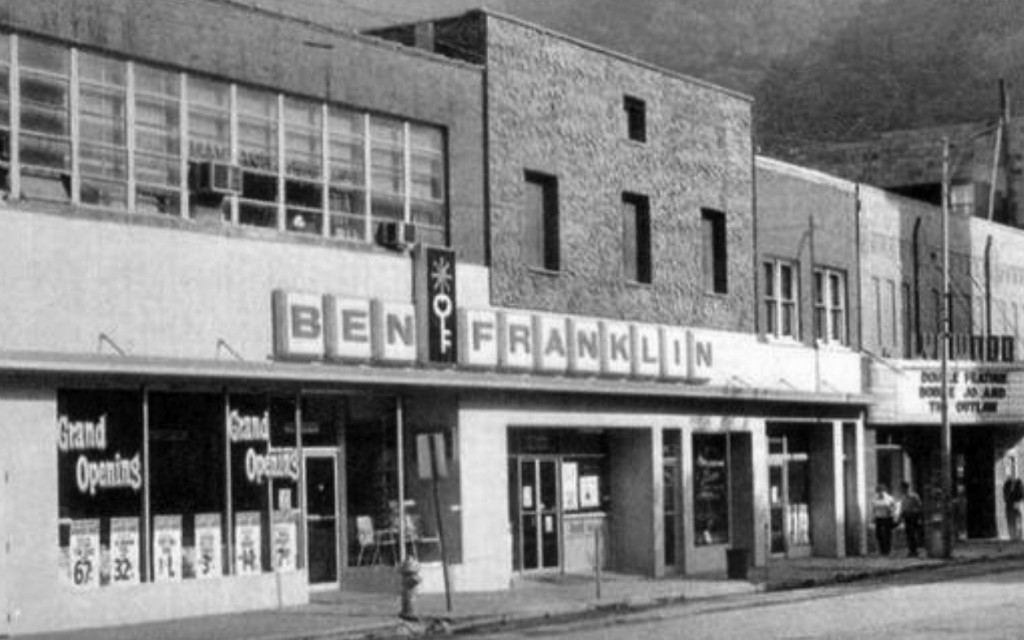Writer Lee Smiths Father Ran The Ben Franklin Dimestore In Grundy Virginia Throughout Her Childhood