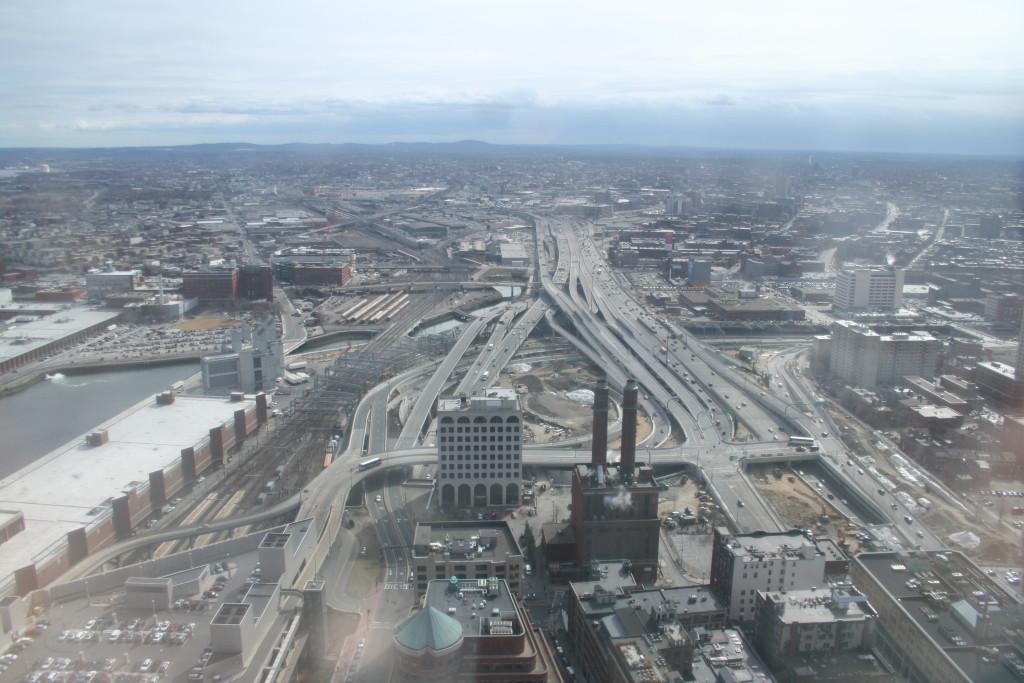 "Boston's South Bay interchange has been reconfigured since this photo was taken in 2006. <a href=""https://en.wikipedia.org/wiki/South_Bay,_Boston#/media/File:South_Bay_Interchange.jpg"">(Garrett A. Wollman/Wikimedia Commons)</a>"