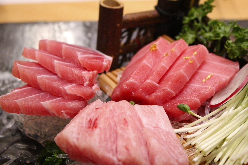 "Food writer Larry Olmsted warns that tuna in sushi is one of the most commonly ""fake"" foods, replaced by restaurants with a lower-cost alternative without notifying the consumer."