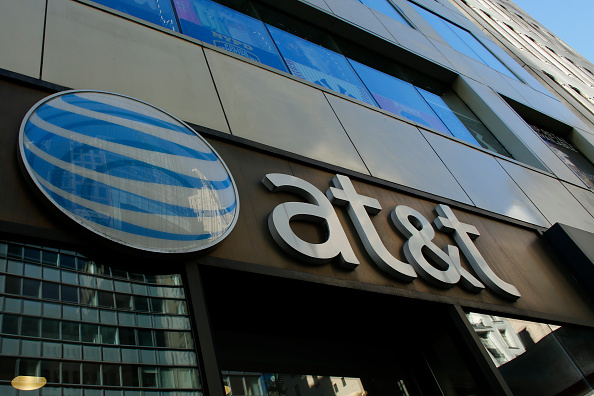 An AT&T store is seen Oct. 23 on 5th Avenue in New York. AT&T unveiled a mega-deal for Time Warner that would transform the telecom giant into a media-entertainment powerhouse positioned for a sector facing major technology changes.