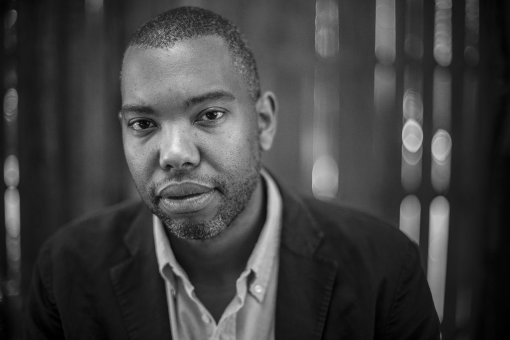 Author Ta-Nehisi Coates in Baltimore City, Md on July 16, 2015.   Gabriella Demczuk/ The New York Times