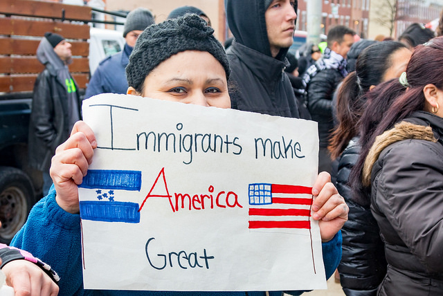 Baltimore Immigrant Protest, Feb16, 2017