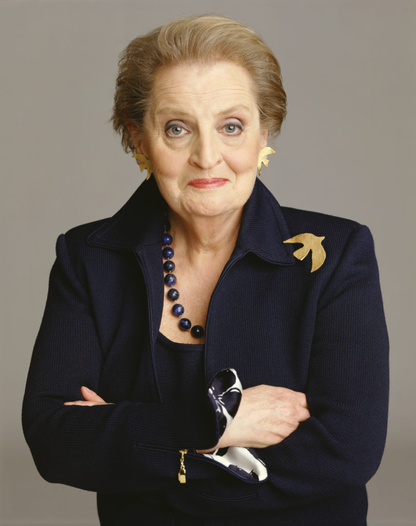 Madeleine Albright was secretary of state from 1997 to 2001.
