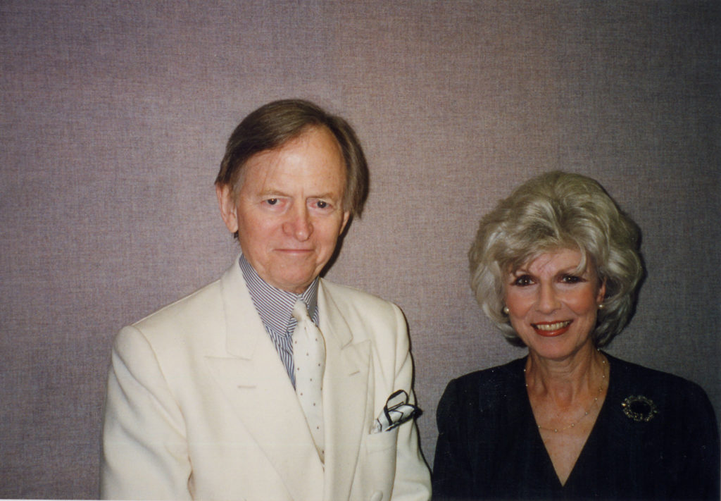 Tom Wolfe and Diane in 1998. The author died Monday, May 14, at age 88.