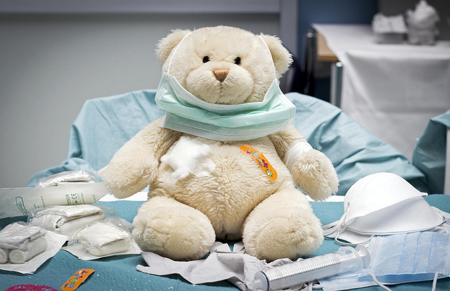 Child psychologist Joanna Breyer says  the beginning of a hospital stay can be among the most intimidating experiences for a sick child. One hospital in the Netherlands transformed its facility into a Teddy Bear Hospital for a day to playfully introduce the experiences a child might have there.