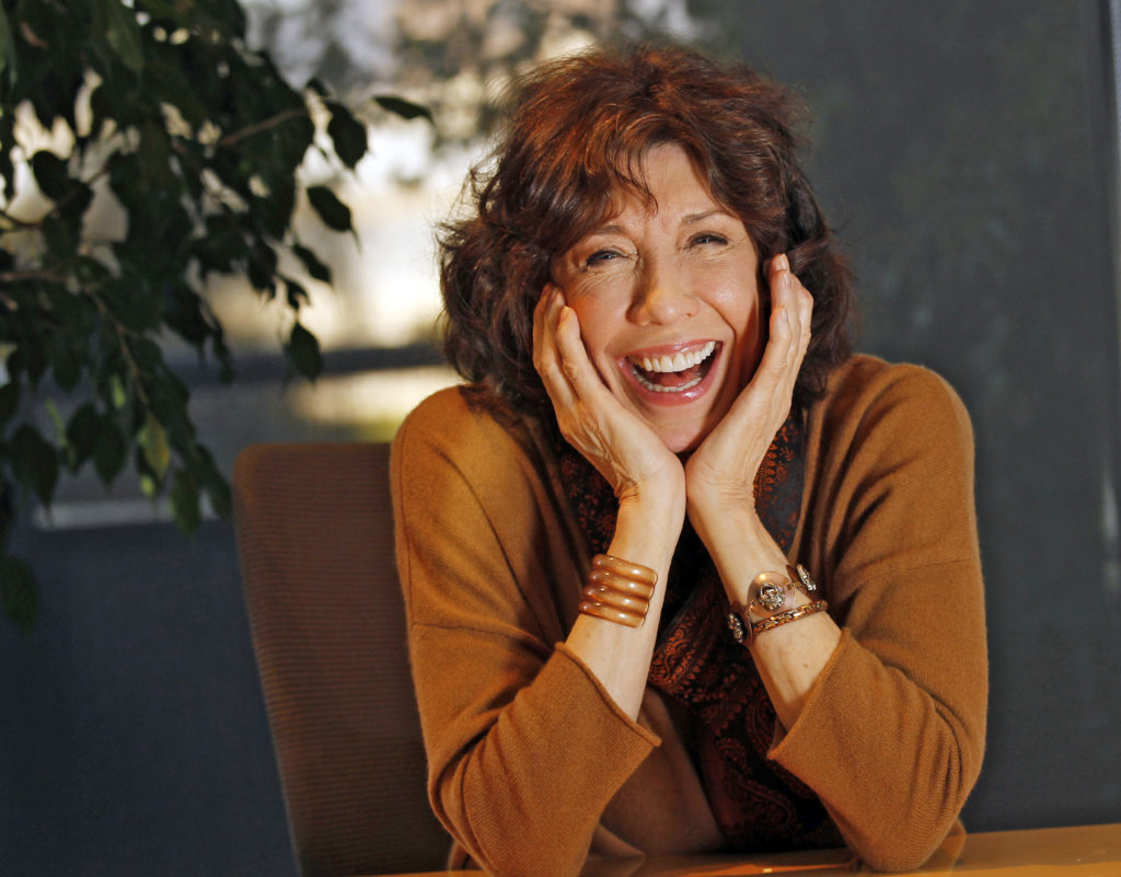 "Lily Tomlin stars in the Netflix show ""Grace and Frankie."" She's currently performing a one woman show in select cities across the country."