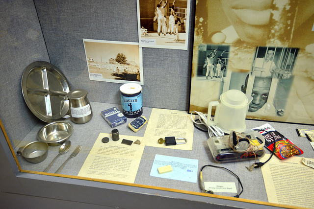 "Items in a Texas prison museum in Huntsville, Texas. In 1986 Diane interviewed Albert ""Racehoss"" Sample about his memoir, ""Racehoss: Big Emma's Boy."" It tells the story of his life, including 17 years spent in a Texas prison."