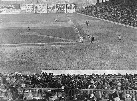 Ebbets Field opened on April 5, 1913 with an exhibition game.  The Brooklyn Dodgers played there until the team moved to Los Angeles in 1957.