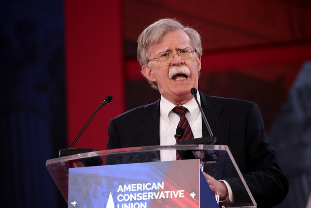 National Security Adviser John Bolton has long  been known for his tough stance on Iran and has pushed the Trump administration to increase both economic and military pressure on the Gulf nation.