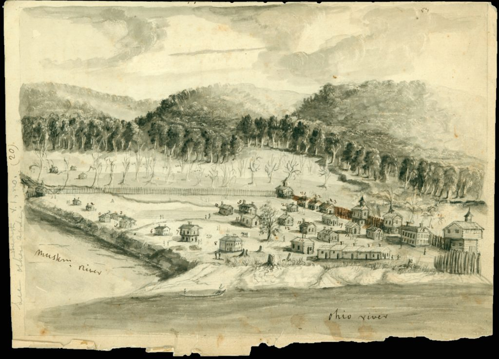 Marietta, Ohio was the first town in the Northwest Territories to be settled by pioneers in 1788.