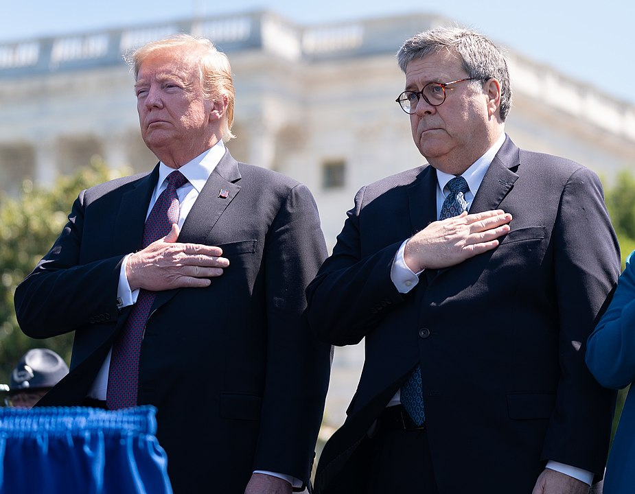 President Donald J. Trump attends the 38th annual National Peace Officers' Memorial Service Wednesday, May 15, 2019, at the U.S. Capitol in Washington, D.C.