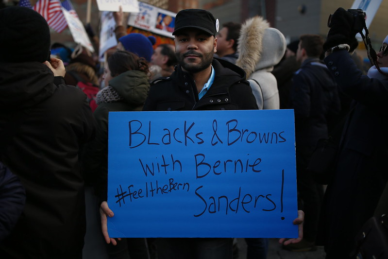 Bernie Sanders is hoping he can capture the black vote this year - something he failed to do in 2016.