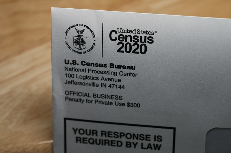 "A U.S. Census Bureau letter stating ""your response is required by law.""  The count is mandated by the Constitution and conducted by the U.S. Census Bureau, a nonpartisan government agency."