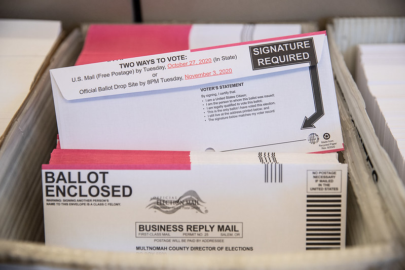 More than 25 states have expanded access to universal mail-in voting, in response to the pandemic.