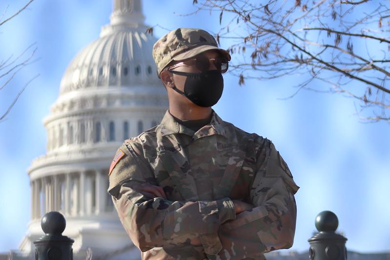 The U.S. Capitol on January 12, 2021.
