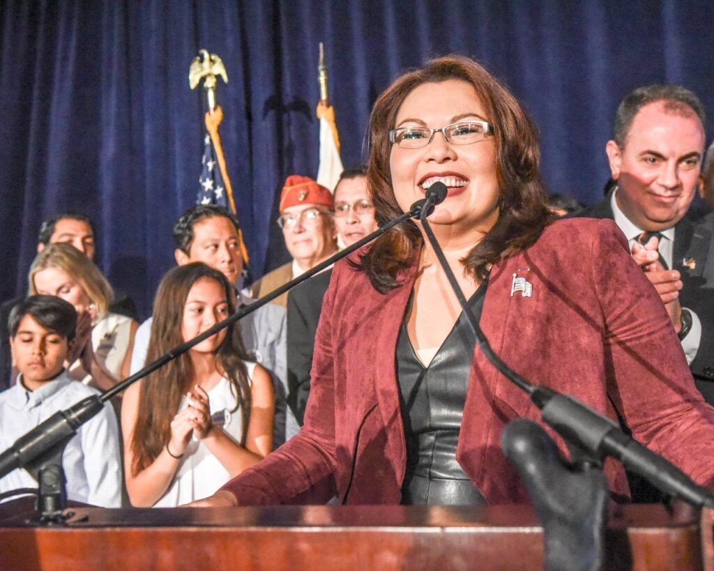 Senator Tammy Duckworth was elected