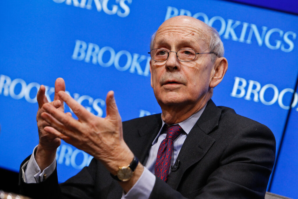 Justice Stephen Breyer has sat on the Supreme court's bench since 1994. Now he is facing pressure by some Democrats to retire.