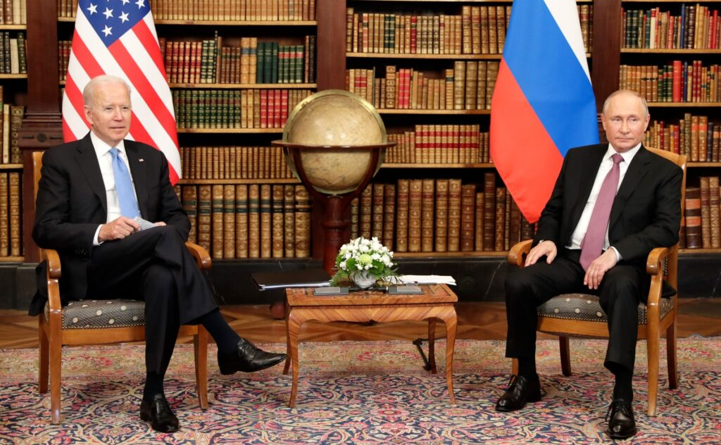 President Biden met with Russian Preisdent Vladimir Putin in Geneva, Switzerland on Wednesday.