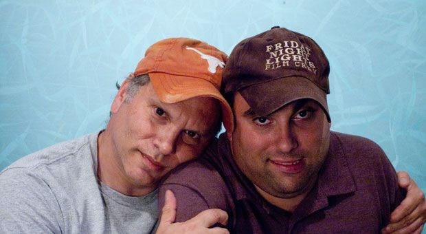 Buzz Bissinger and his son, Zach.