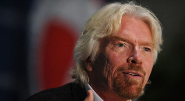 Sir Richard Branson, Founder, Virgin Group, speaks during the 13th annual Aviation Summit at the Walter E. Washington Convention Center on April 3, 2014 in Washington, D.C. The summit is hosted by US Chamber of Commerce Foundation.