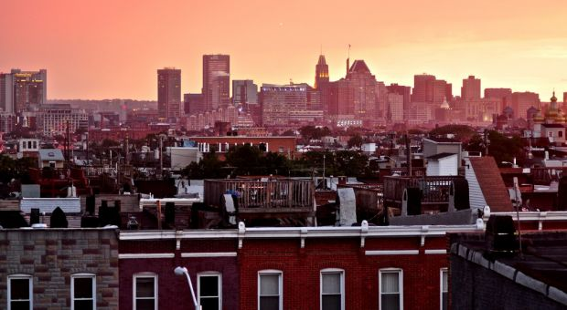 Baltimore, where both Wes Moores grew up