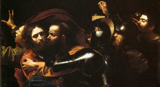 """Caravaggio's """"The Taking of Christ"""""""