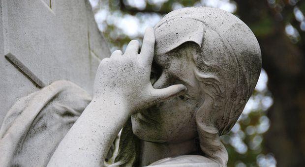 Sculpture, Montparnasse Cemetery